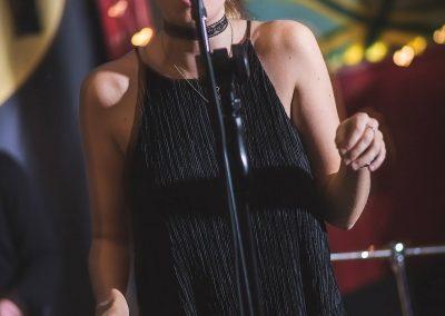 Becky Bowe at the den Harrogate